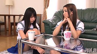 Japanese schoolgirl wants to have a jock in her pussy