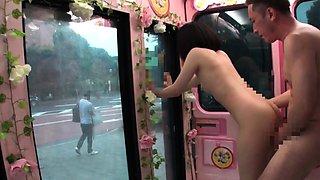 Jav Idol Hikaru Chan Fucked In Mirror Bus On The Streets