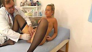 Classy girl hidden cam doctor video
