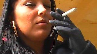Incredible amateur Fetish, Smoking adult movie