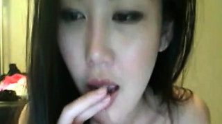 Hot Asian Girl With A Beautiful Pussy On Webcam