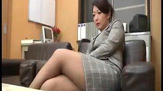 Asian secretary pt1 more at mantraporn.com