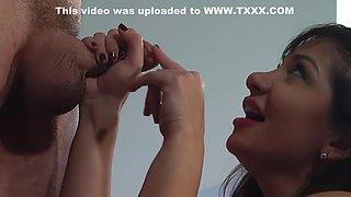 Exotic pornstar Lea Lexus in incredible hd, blowjob porn movie