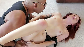 Watch awesome interracial fuck with a voracious for BBC Alyssa Branch