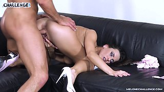 Melonechallenge - Muscle stripper aprroved by Mea Melone