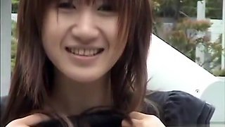 Asian teenies in love with public flashing nudity show
