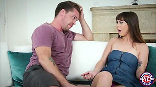 Innocent teen Shae Celestine receives hot creampie