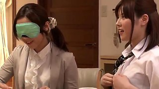 Cute Asian Schoolgirl Seduces Lucky Teacher