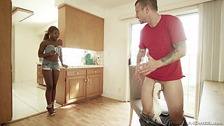 Gorgeous Noemie Bilas is ready for a fucking session with a guy