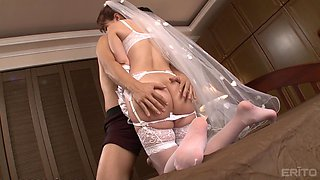 Horny bride wants to be fucked by a handsome fellow