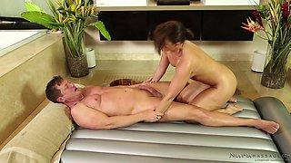Lucky Guy Gets A Nuru Massage