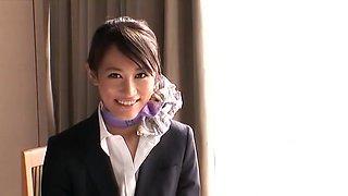Exotic Japanese whore Aoki Misora in Horny Handjobs, Secretary JAV video