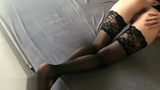 Petite Teen In Stockings Fucked By Her Step Brother