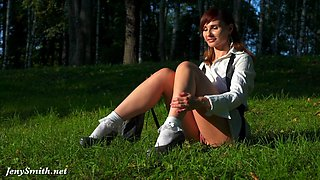 Nude anime style photo shoot with hot Jeny Smith