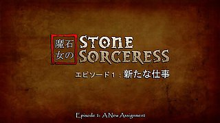 Stone Sorceress - Hottest 3D anime sex clips