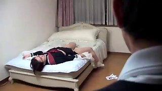 Japanese daughter paying debt