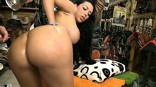 Insatiable maid Natasha gets fanny fucked