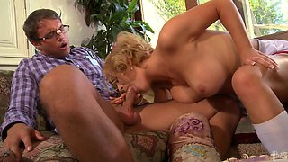 Krissy Lynn  Gets Her Hairy pussy Stuffed By A Big Cock