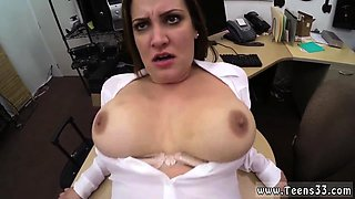 Fucking old white teacher Foxy Business Lady Gets Fucked!