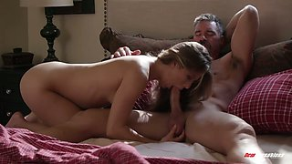 Lovable babe with flossy bum Paige Owen enjoys hard doggy banging
