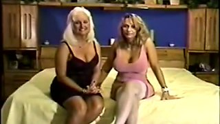 Vintage Interracial With Blonde Model, Old School VHS