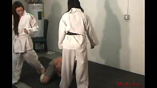 brutal and sadistic double gi beatdown with cindy & mikaela