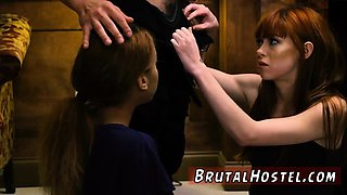Brutal extreme partner's daughter and hot teen blonde vibrat