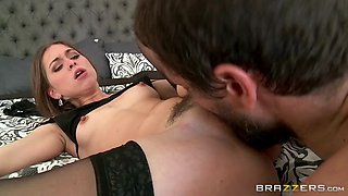 riley reid's husband decides to catch his wife in the act by filming her getting licked