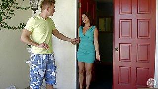 Milf Sucks Off The Guy Next Door