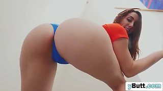 perfect booty bounces on a bbc