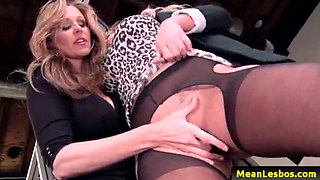 Hot and MEan Lesbians - Disciplinary Action Part One with Julia Ann & Olivia Austin