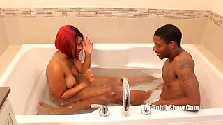 Stretch bbc thickred raw nasty lovers