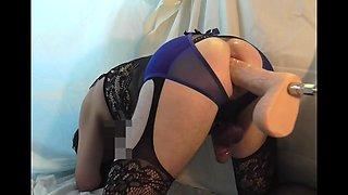 sex machine with dildo 28x6cm