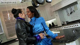 Secretary Isabella Chrystin teaches a new secretary something