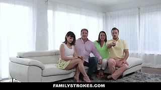 Nova Cane in Family Easter Extravaganze - FamilyStrokes