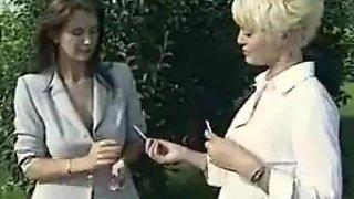 Lesbian Teachers Punish Smoking Schoolgirls