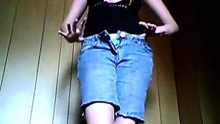 Self filmed masturbation and squirt