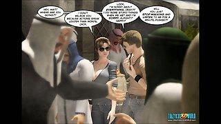3D Comic. Clara Ravens. Episode 3