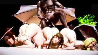 3D Sex Orgy