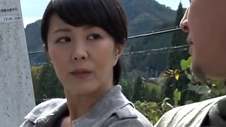 Asian Japanese MILF Outskirts Sex
