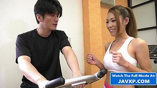 Hot Asian Teen At The Gym, Japanese JAV