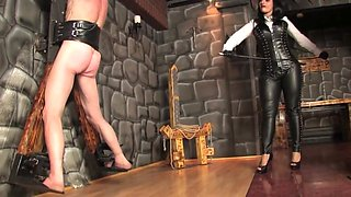 Whipped leather mistress