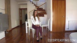 Escort Casting Friendly Dutch Girl Turns Into Sex Machine