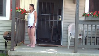 teasing the neighbors wife