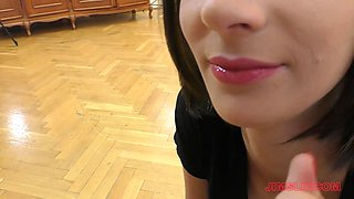 Mimi is a hot brunette who is in need of an elderly man's touch
