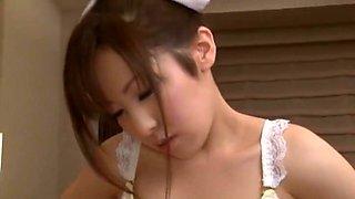 Hottest Japanese whore Yurie Shinohara, Ren Hasumi, Kurumi Wakaba in Horny Big Tits, Nurse JAV scene