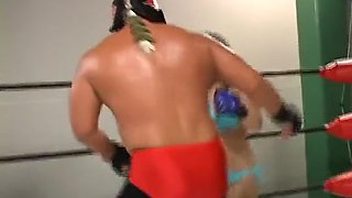 Japanese mixed wrestling 1