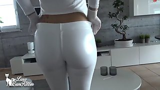 lara-cumkitten - bubble butt reiten mit der latex bitch