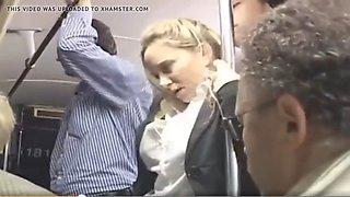 disfruto en el bus