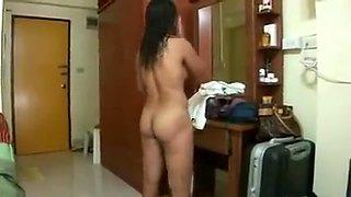 Manipuri Housewife In Bedroom